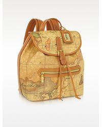 Alviero Martini 1A Classe - Geo Print Backpack - Lyst