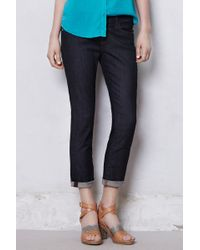 AG Adriano Goldschmied Stevie Roll Up Jeans - Lyst