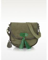 Bensimon - Manhattan Line Corduroy Shoulder Bag - Lyst