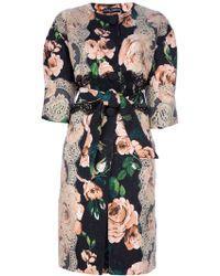 Dolce & Gabbana Printed Jacket floral - Lyst