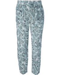 Emma Cook - Roccoco Print Trouser - Lyst