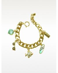 Juicy Couture Fully Loaded Charm Bracelet