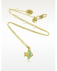 Juicy Couture - Tropical Fish Mini Wish Necklace - Lyst