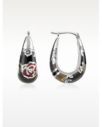 KENZO - Fedora Sterling Silver Earrings - Lyst
