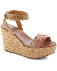 ModCloth | Woven Wonders Of The World Wedge | Lyst
