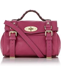 Mulberry - Mini Alexa Crossbody Bag - Lyst