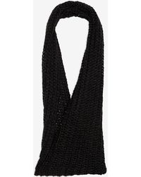 Genie by Eugenia Kim - Metallic Cable Knit Infinity Scarf - Lyst