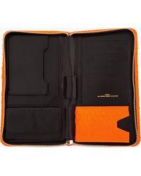 Juun.J - Neon Orange Leather Python Zip Travel Case - Lyst