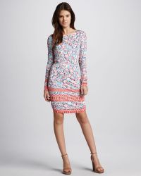 Pencey - Printed Openback Dress - Lyst