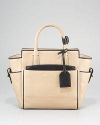 Reed Krakoff - Mini Atlantique Tote Bag, Nude/Black - Lyst