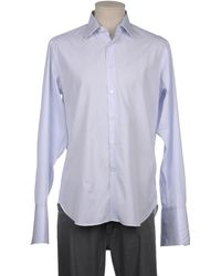 Bagutta Long Sleeve Shirt - Blue