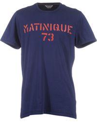Matíníque - Short Sleeve T-shirt - Lyst