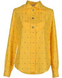 Viktor & Rolf Long Sleeve Shirts - Yellow