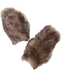 Donna Karan New York Fur Cuffs - Lyst