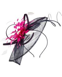 Jacques Vert - Navy and Fucshia Fascinator - Lyst