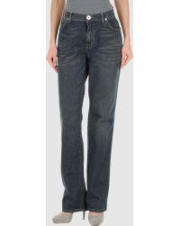 Krizia Jeans Denim Pants - Blue