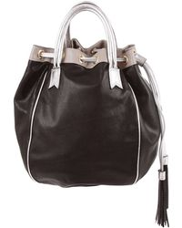 f101fd9e59 Hot Meredith Wendell - Leather Tassel Circle Tote - Lyst