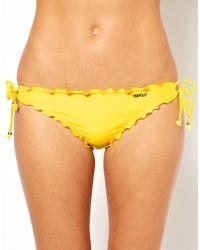 Seafolly Shimmer Tie Side Bikini Pant - Lyst