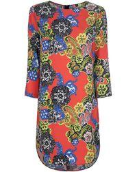 MSGM Printed Dress - Lyst