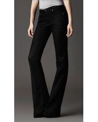 Burberry Harwood Black Flared Jeans
