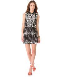Sea Combo Collared Dress - Lyst