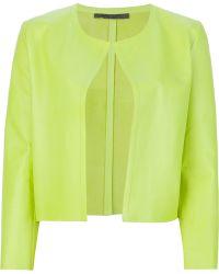 Simonetta Ravizza Leather Jacket - Lyst