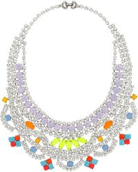 Tom Binns - Soft Power Silverplated Swarovski Crystal Necklace - Lyst