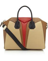Givenchy Antigona Medium Tricolour Bag - Lyst