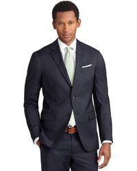 Brooks Brothers Milano Fit Mini Bead Stripe Suit - Lyst