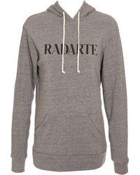 Rodarte Radarte Hooded Sweatshirt - Lyst