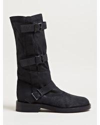 Ann Demeulemeester Angelina Boots - Black