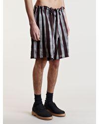Ann Demeulemeester Cole Shorts - Multicolour