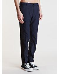 Dries Van Noten Paxton Trousers - Blue