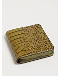 Dries Van Noten | Reptile Print Zip Wallet | Lyst