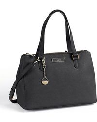 DKNY Saffiano Leather Large Work Shopper Bag - Lyst