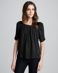 Joie Eleanor Silk Blouse - Lyst