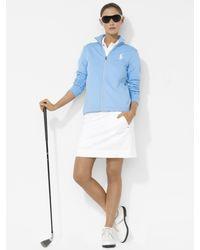 Ralph Lauren Golf Zip Knit Jacket - Blue