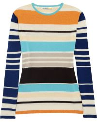 Clements Ribeiro Edward Striped Cashmere Sweater - Multicolor