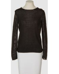 Avant Toi Long Sleeve Sweater - Lyst