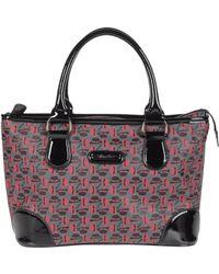 Borsalino Medium Fabric Bag - Lyst