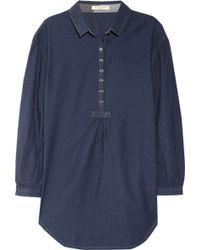 Burberry Brit - Cotton Chambray Shirt - Lyst