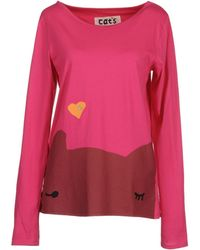 Cats by Tsumori Chisato Long Sleeve T - Pink
