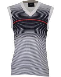 Dolce & Gabbana Sweater Vests - Gray