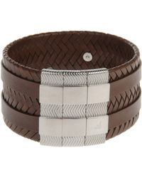 Emporio Armani Bracelets Cuff - Lyst