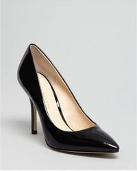 Enzo Angiolini Pointed Toe Pumps Persist High Heel - Lyst