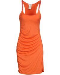 Gianfranco Ferré Short Dresses - Orange