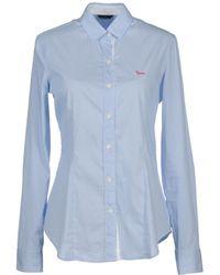Harmont & Blaine Long Sleeve Shirt - Blue