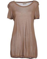 Laneus Short Sleeve T-shirt - Brown