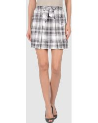 Love Moschino Mini Skirt - Lyst