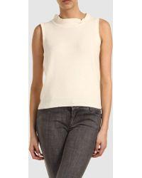 Marc Jacobs Sleeveless Sweater - Lyst